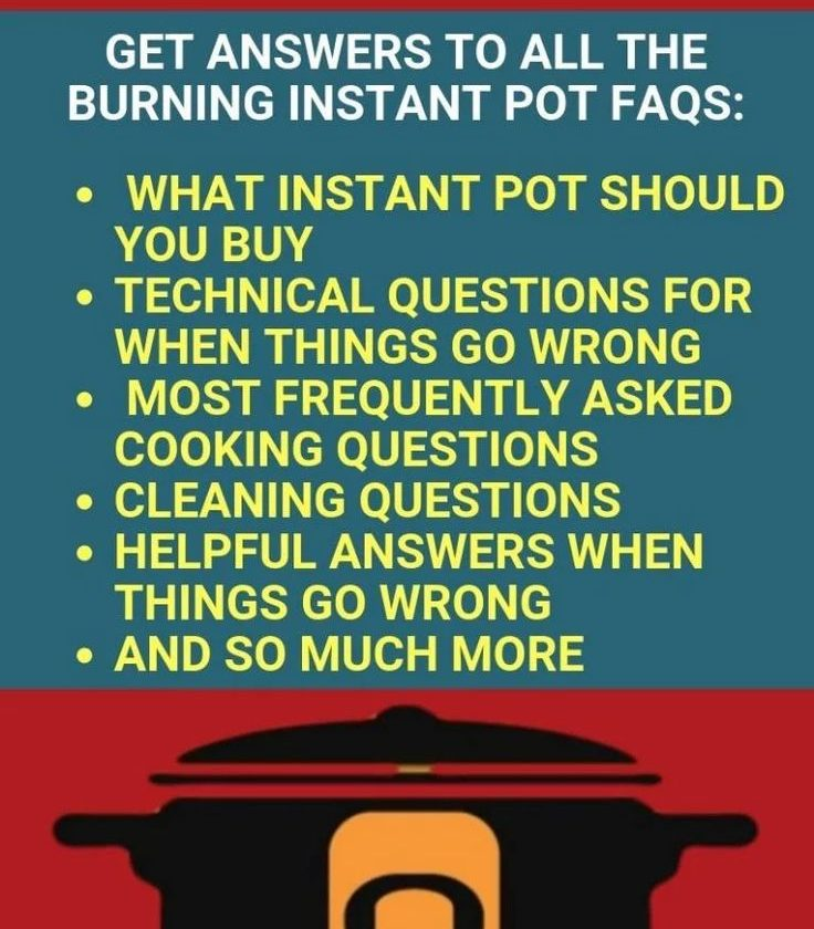 101 Instant Pot Tips & Tricks For Beginners and the answers to all your burning ...