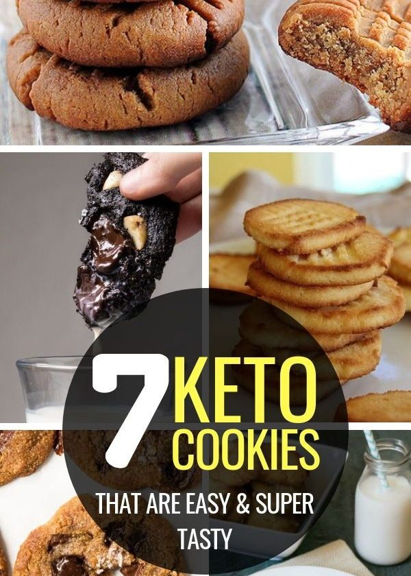 7 Keto Cookies Recipes that literally Melt In Your Mouth