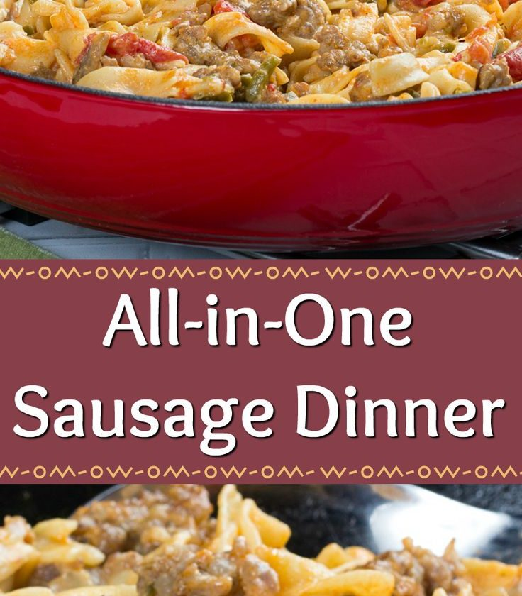 All-in-One Sausage Dinner