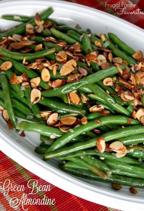 An easy, classic side dish! Green Beans Almondine pairs perfectly with any main ...