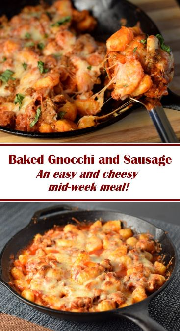 Baked Gnocchi and Sausage