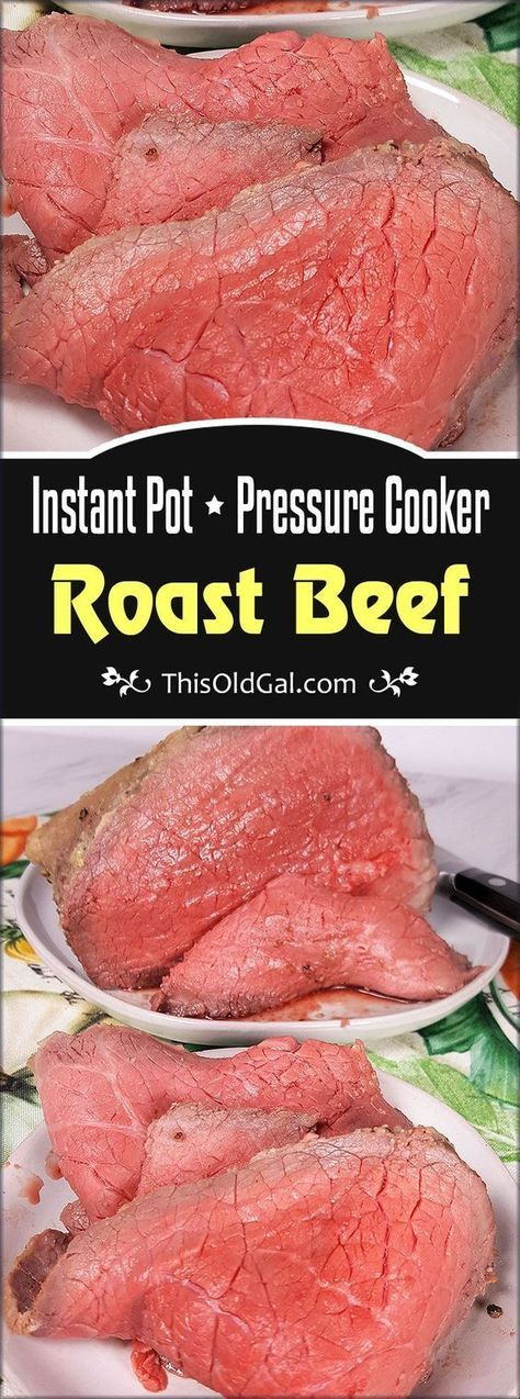 Delicious Pressure Cooker Roast Beef Recipe - Healthy and very tasty! This great...