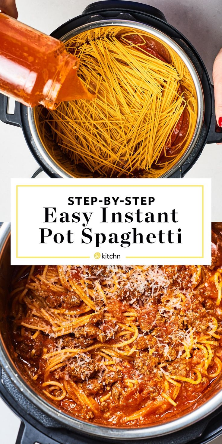 How To Make the Best Instant Pot Spaghetti