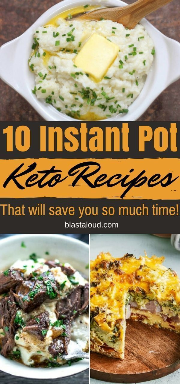 Instant Pot Keto Recipes: 10 Easy Low Carb Keto Recipes To Keep You In Ketosis