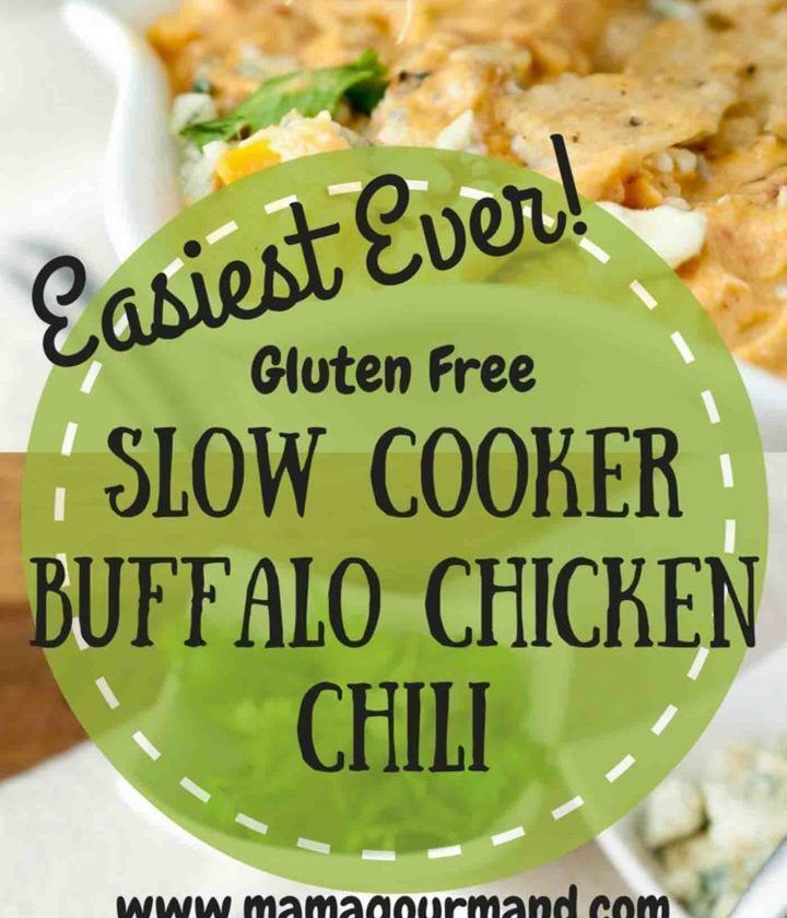 Look no further for your slow cooker creamy Buffalo Chicken Chili recipe. This o...