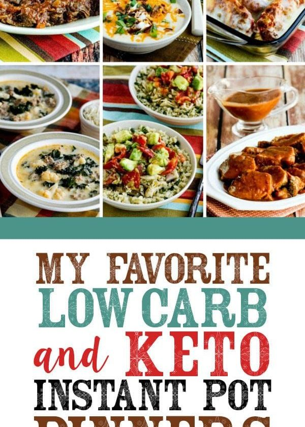 My Favorite Low-Carb and Keto Instant Pot Dinners
