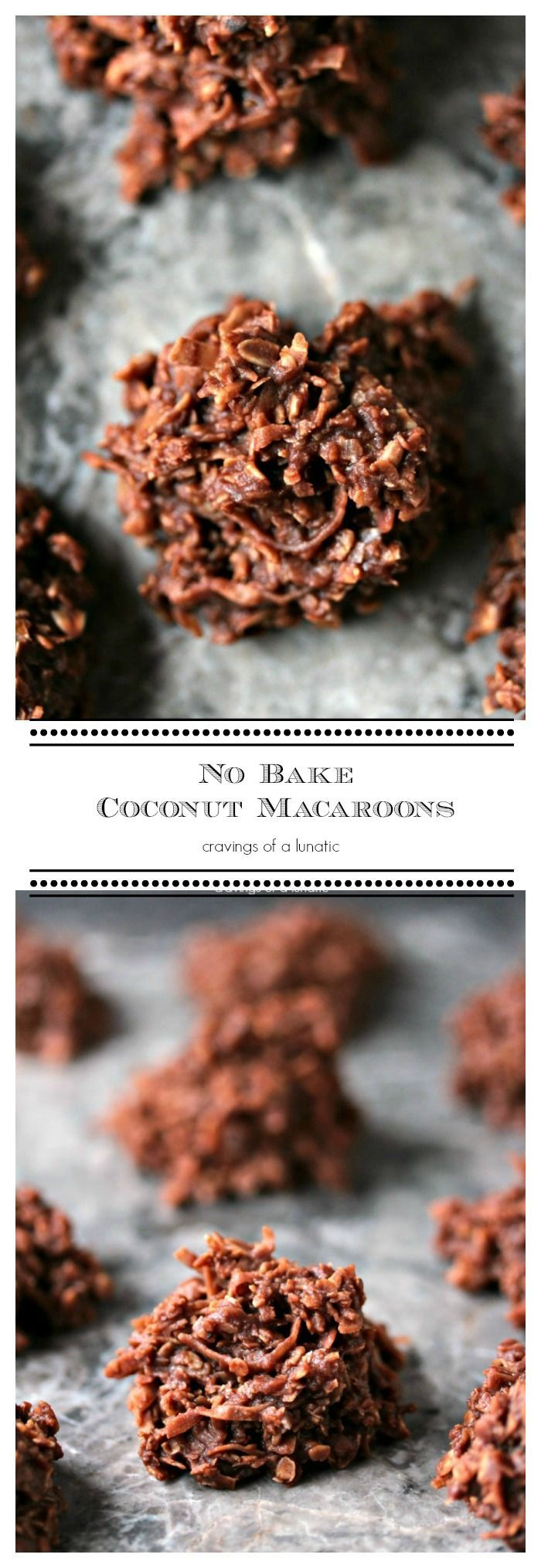 No Bake Coconut Macaroons | Simple, quick No Bake Cookies that will impress your...