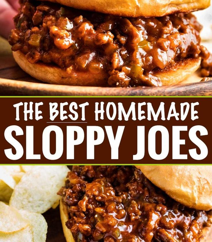Perfect for quick dinner, these family-favorite homemade sloppy joes are ready i...