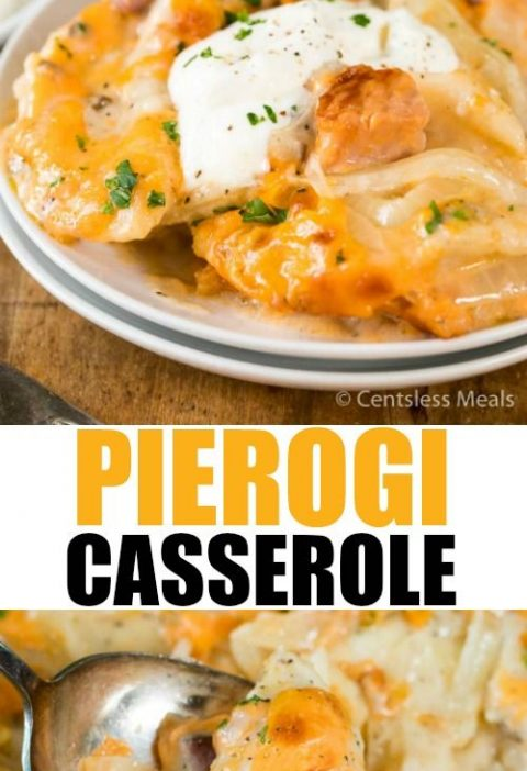 Pierogi Casserole is a delightful and fun way to bring traditional pierogies to ...