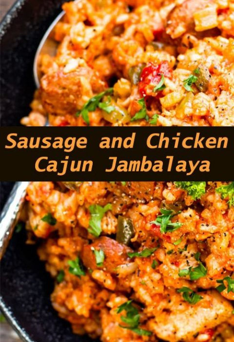 Sausage and Chicken Cajun Jambalaya - All About Health Food Recipes - All About ...