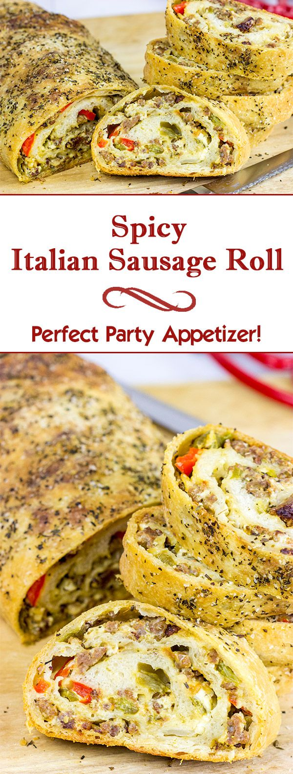 Spicy Italian Sausage Roll