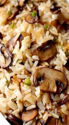 Spicy Mushroom Rice- very easy and so so delicious! Lots of flavour :) Great the...
