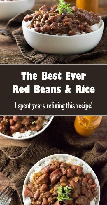 The Best Ever Red Beans and Rice