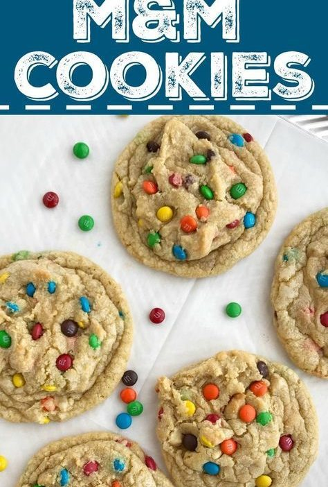 The Best M&M Cookie Recipe | Posted By: DebbieNet.com