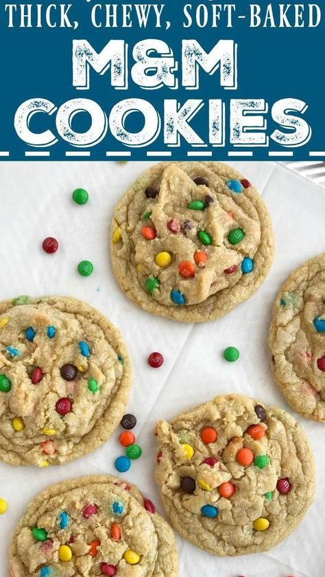 The Best M&M Cookie Recipe   Posted By: DebbieNet.com