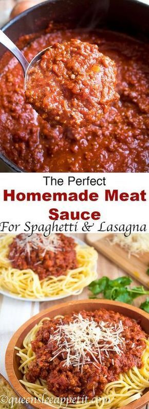 The Perfect Homemade Meat Sauce