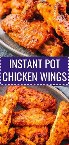 These easy Instant Pot Chicken Wings are hot, spicy, and buffalo flavored! If yo...