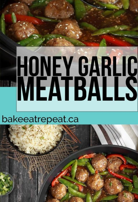 These honey garlic meatballs are easy to make and the whole family will love the...