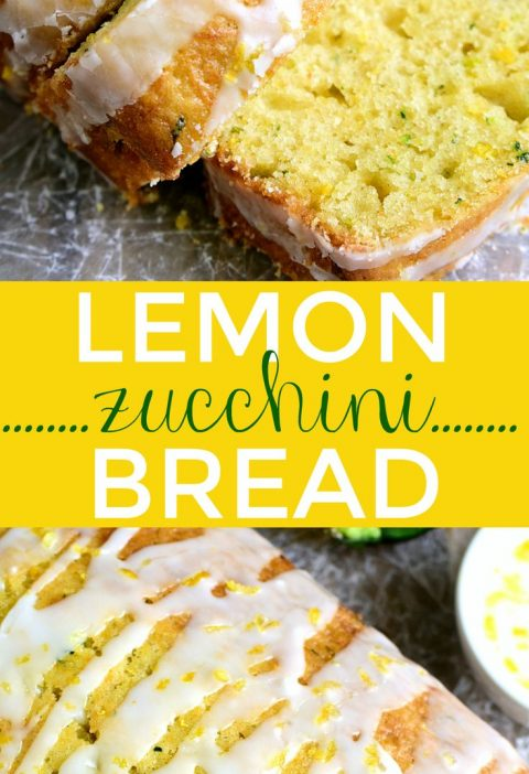 This Lemon Zucchini Bread combines two favorites in one delicious loaf of bread!...