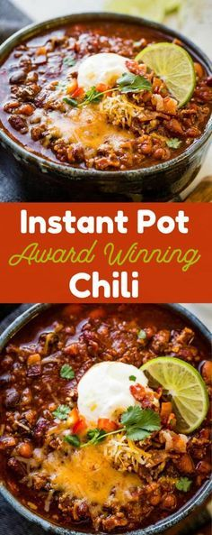 We recently attended a chili cook-off which kicked my obsession with finding an ...