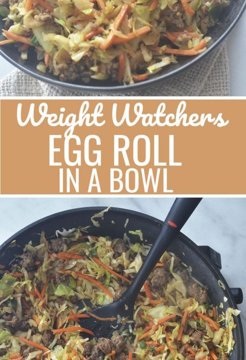 Weight Watchers Egg Roll in a Bowl
