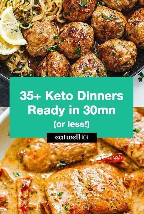 60+ Keto Dinners You Can Make in 30 Minutes or Less