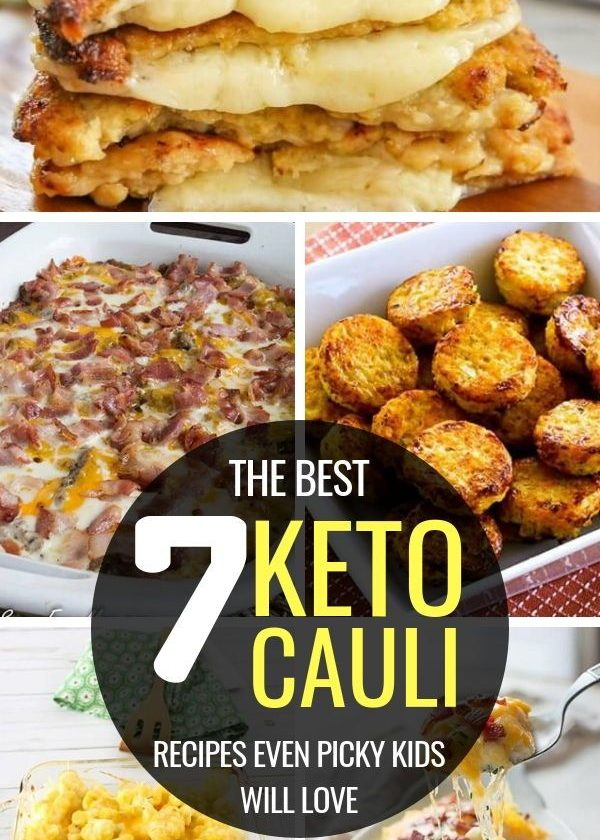 7 Keto Cauliflower Recipes to Lose Weight Easily