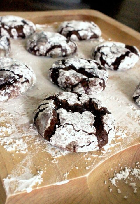 A gluten-free cookie - but you'd never know it! Fudgy, chocolatey, and wonde...