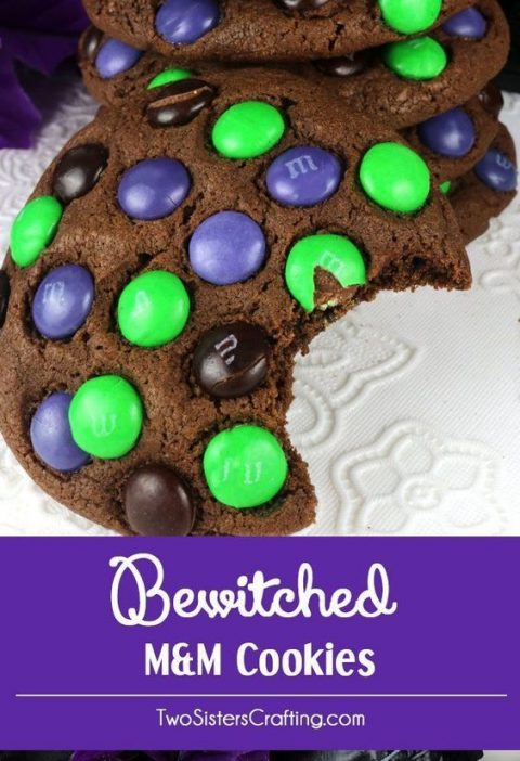 Bewitched M&M Cookies