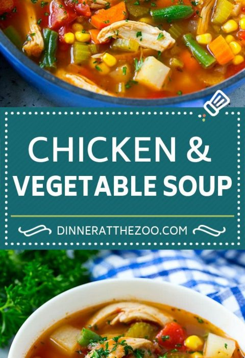 Chicken Vegetable Soup Recipe   Chicken Soup   Healthy Soup   Vegetable Soup #ch...