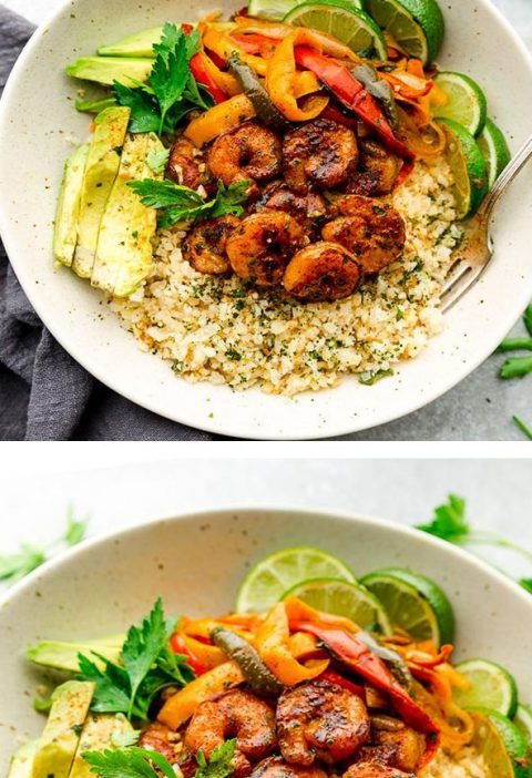Chipotle Lime Shrimp Bowls