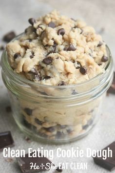 Clean Eating Cookie Dough
