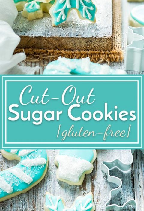 Cut-Out Sugar Cookies that Don't Spread