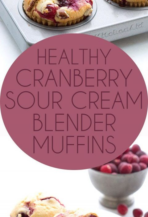 Easy Low Carb Cranberry Muffins