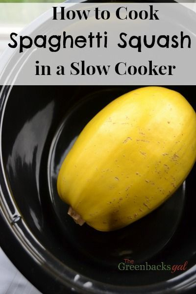 How to Cook Spaghetti Squash in a Slow Cooker