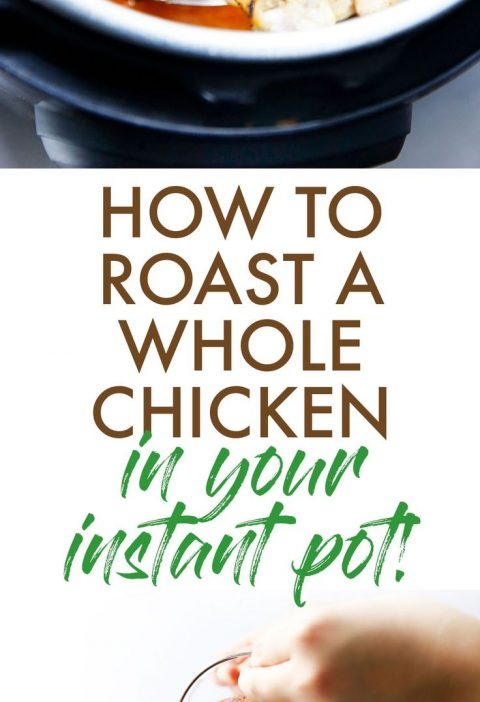 How to Cook a Whole Chicken in the Instant Pot - Lexi's Clean Kitchen