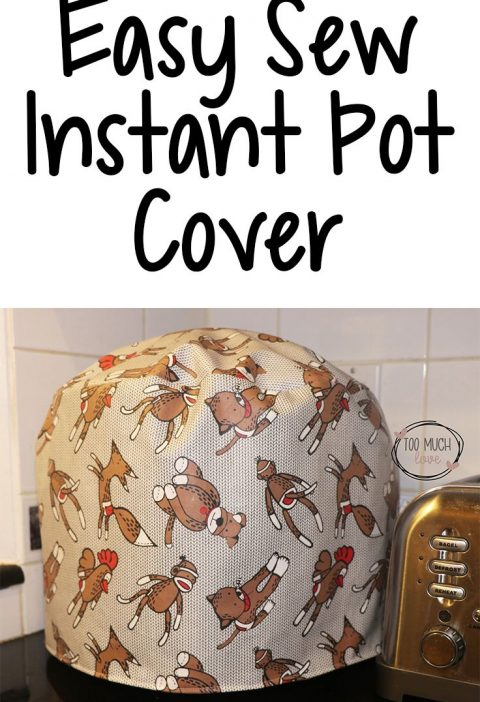 How to Make an Easy Sew Instant Pot Cover