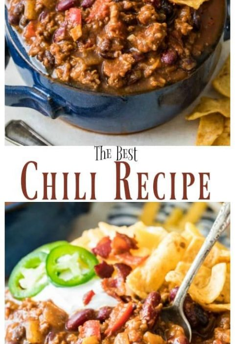 How to make the BEST Chili Recipe! So easy and so good! Everyone raved about thi...