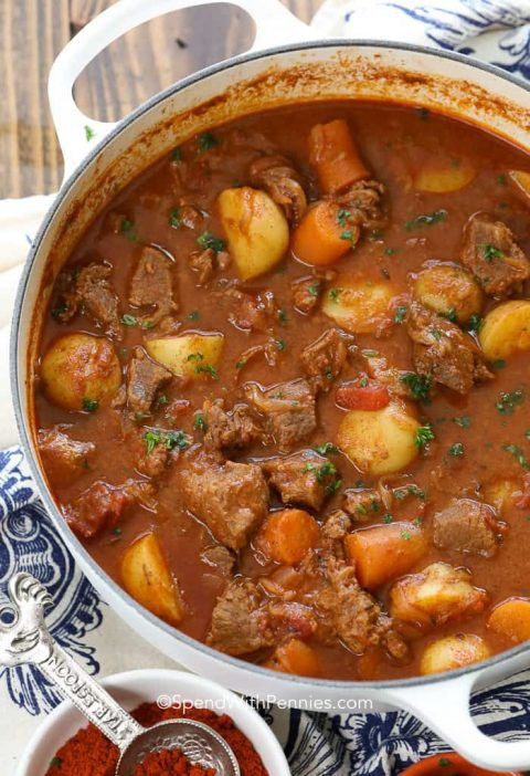 Hungarian Goulash (Spend With Pennies)