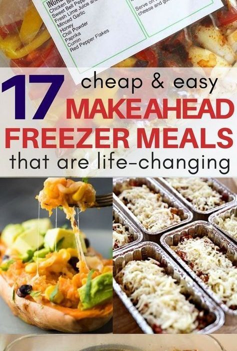 I am obsessed with the frozen chicken fajitas and lasagna roll make ahead freeze...