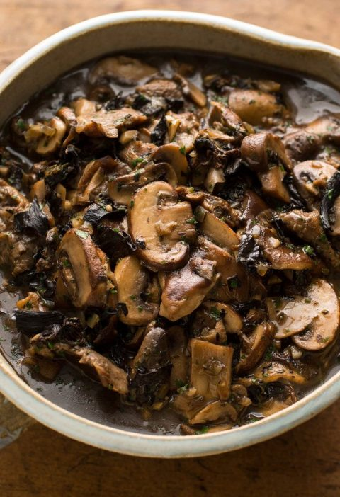 I like to use this as a gravy at Thanksgiving, instead of actual gravy, but that...