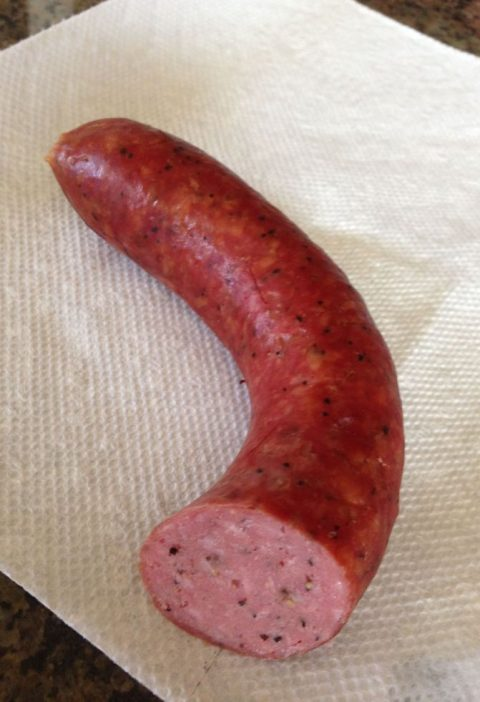 I set out to re-create the beef sausages made in the famous Lockhart, TX BBQ est...
