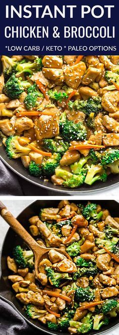 Instant Pot Chicken and Broccoli Stir Fry - a popular Chinese takeout favorite m...
