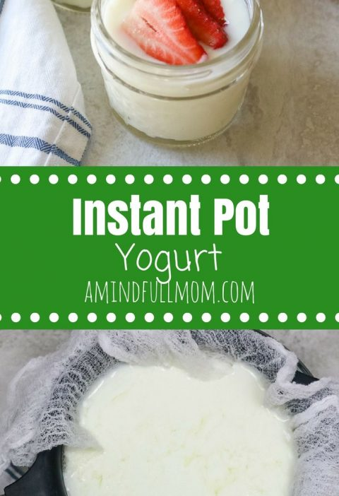 Instant Pot Yogurt: Step by step directions for making yogurt in an electric pre...
