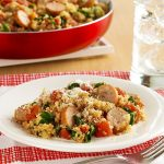 Italian Skillet Chicken with Tomatoes and Mushrooms