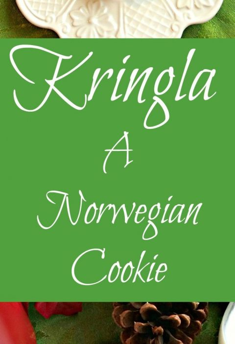 Kringla ~ A Norwegian holiday cookie dipped in chocolate, the perfect mate for y...