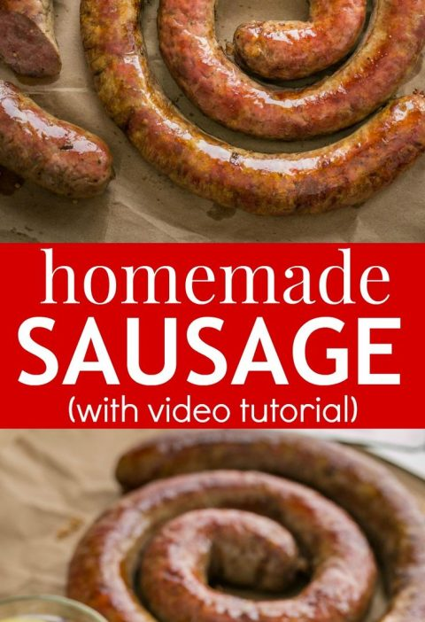 Learn how to make Homemade Sausage with this VIDEO recipe. Homemade sausage is a...
