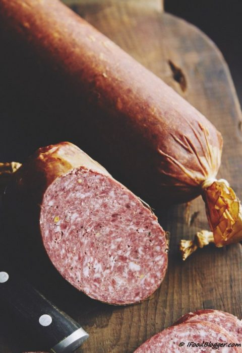 Learn how to make summer sausage at home with these easy to follow illustrated i...