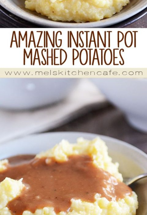Life-Changing Instant Pot Mashed Potatoes
