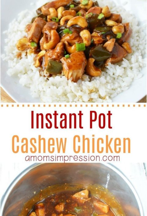 Looking for a nice take-out version of Cashew Chicken you can make in your Insta...
